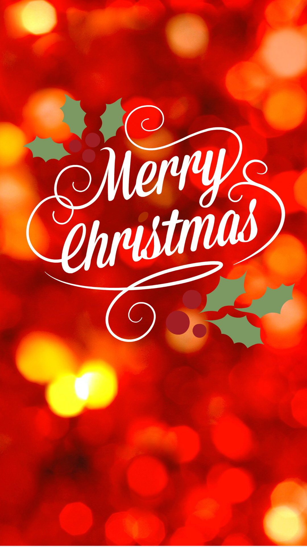 Christmas Lights On